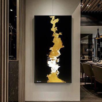 Abstract Painting Original Large Oversize Painting Yellow Painting Gold Painting Acrylic Painting On Canvas Oil Painting Original Abstract