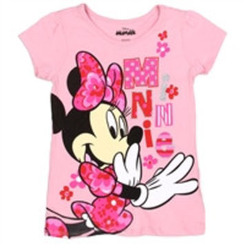MINNIE MOUSE Girls 4-6X T-Shirt-xdm9526