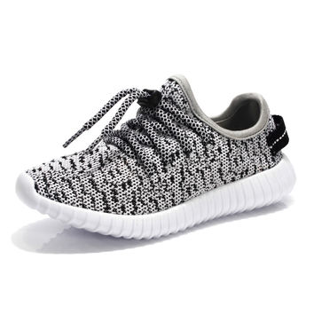 Yeezy Shoes Kids Shoes Chaussure Enfant Fashion Children Sneakers Comfortable and Breathable boys Shoes Portable Lace-Up Shoes