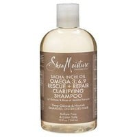 SheaMoisture® Sacha Inchi Oil Omega 3, 6, 9 Rescue + Repair Clarifying Shampoo - 13oz