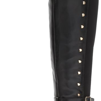 Vince Camuto Women's Pelda Over The Knee Boot Black 8 B(M) US