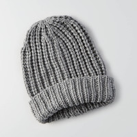 AEO Turnup Beanie , Medium Heather