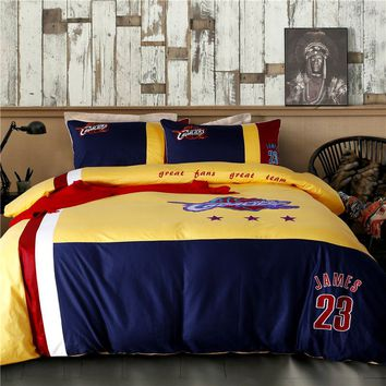 Cleveland Cavaliers Bedding Set LeBron James NBA Twin Queen Size | EBeddingSets