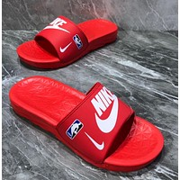 NBA NIKE BENASSI SOLARSOFT x NBA Summer beach slippers