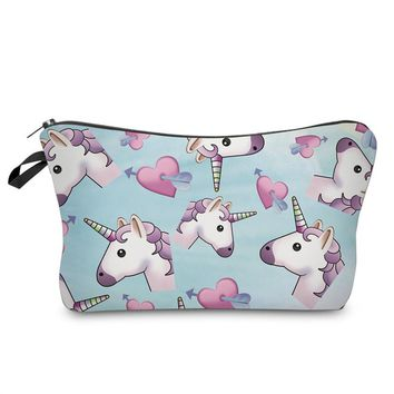 unicorn pencil case Kawaii pencilcase Cartoon estuche escolar Creative kalem kutusu school supplies pen case papelaria