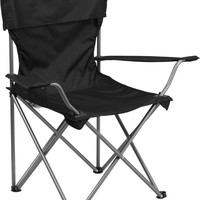 Folding Black Camping Chair