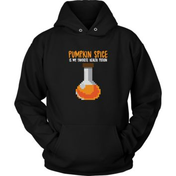 Pumpkin Spice Flavored Health Potion Hoodie