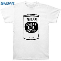 T Shirts Clothing Free Shipping Gildan O-Neck Short Sleeve Fashion Mens Fidlar Cheap Beer T Shirts
