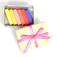Sunny Shades Set of 6 - PREMIUM HAIR CHALK - Temporary Hair Color - Trendy Hair - Dip Dye - Buy 5 Get 1 Free - Gifts Under 15