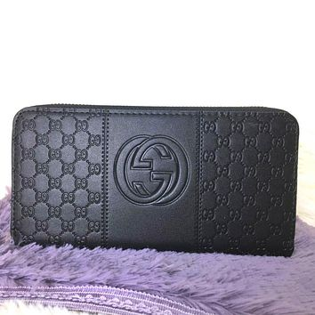 Gucci Women Leather Fashion Wallet Purse