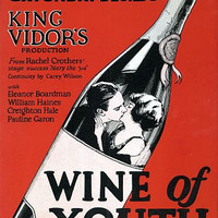 Wine of Youth King Vidor Movie Poster