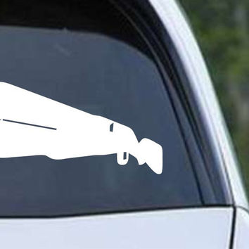 12 Gauge Shotgun Hunting HNT1-17 Die Cut Vinyl Decal Sticker