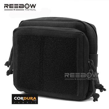 ICIKUH3 REEBOW TACTICAL Military Tactical Gear Utility Map Admin Pouch Outdoor EDC Tool Molle Bag Organizer Waist Pack