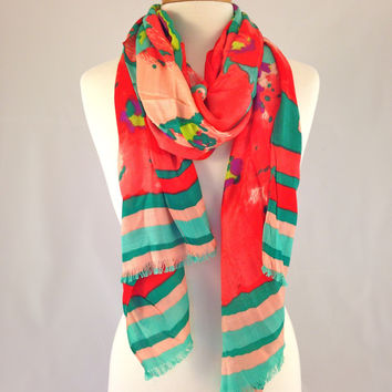 Tropical Nights Scarf