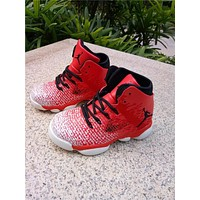 Nike Air Jordan 31 XXXI Black White Red Kid Basketball Shoes for Youth Boys and Child