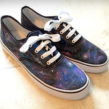 Custom Galaxy canvas shoes Vans/Toms Etc by MyCustomKicks on Etsy