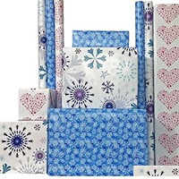 "Frozen-Inspired Wrapping Paper (Set of 3), 30"" x 15 Feet each roll (112.5 sq. feet total)"