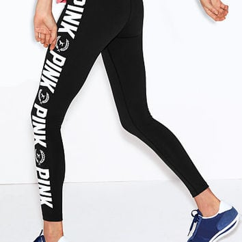 Printed Ultimate Yoga Legging - PINK - Victoria's Secret