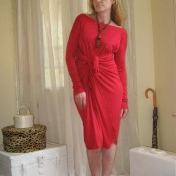NEW Shape Shifter Asymmetric Dress Off Shoulder Oversize Tunic Long Sleeve Midi Maternity (More Colours) Ready to Ship