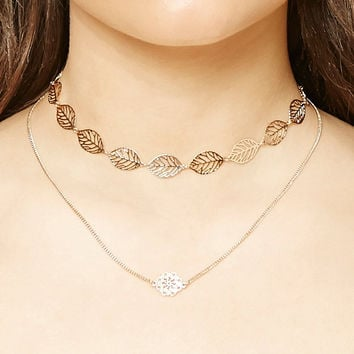 Filigree Necklace Set