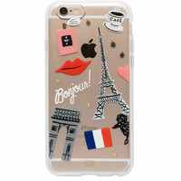 RIFLE PAPER IPHONE 6/6S CASE CLEAR I LOVE PARIS