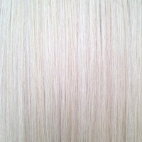 """Platinum Blonde #90 - Deluxe 20"""" Clip In Human Hair Extensions 165g from www.foxylockshair.co.uk"""