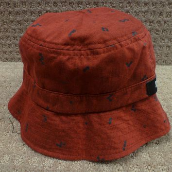 "DC Women's Bucket Hat ""Cadet"" -- Color Red"
