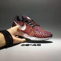 """Nike Air Zoom Pegasus 35"" Women Sport Casual Flywire Knit Sneakers Running Shoes"
