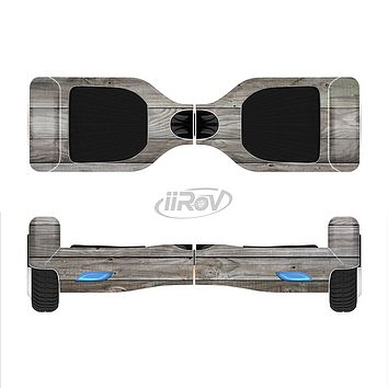 The Rough Wooden Planks V4 Full-Body Skin Set for the Smart Drifting SuperCharged iiRov HoverBoard
