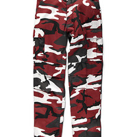 Rothco BDU Tactical Red Camo Cargo Pants | Zumiez
