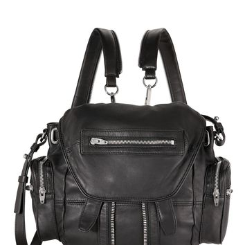 Marti Mini Leather Backpack