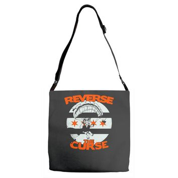 reverse the curse Adjustable Strap Totes