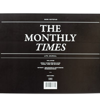 Times Desk Monthly Notepad