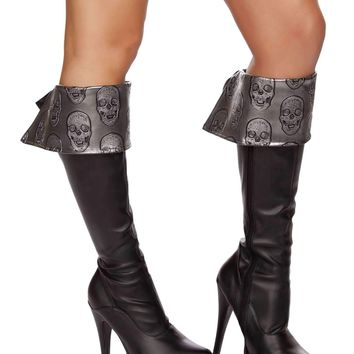 Roma Costume 4572B Deadly Pirate Boot Cuffs