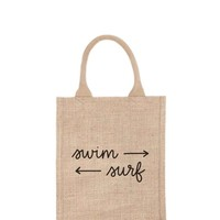 Purposefull Gift Bag Tote - Swim > Surf – The Little Market