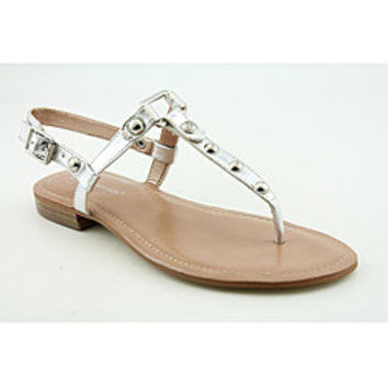 BCBGeneration Women's Barth Silver Sandals | Overstock.com