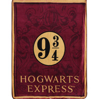 Harry Potter Hogwarts Express Micro Raschel Throw