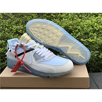 OFF-WHITE x Nike Lab Air Max 90 Sneaker 36---46