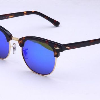 Ray Ban Round Sunglass Rb3016 Clubmaster 1145/19 49 | Best Deal Online