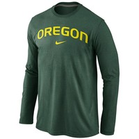 Nike Oregon Ducks Wordmark Tee - Men
