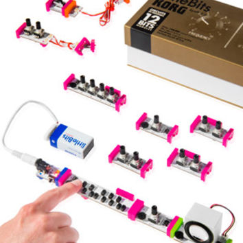 LittleBits Synth Kit: DIY circuit-building kit for musicians and tinkerers.