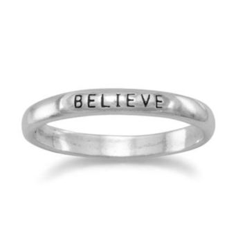 Believe Band Ring
