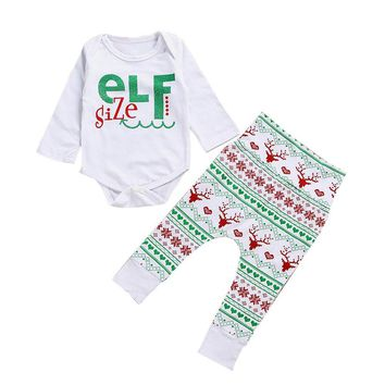 Christmas Cute Newborn Infant Baby Boy/Girl Clothes