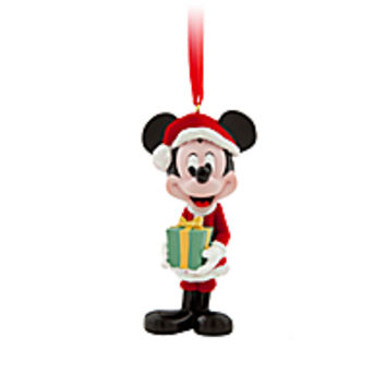 Santa Mickey Mouse Ornament