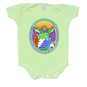 Grateful Dead - Turtle Infant Snapsuit