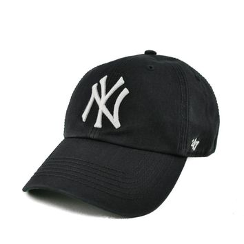 New York Yankees '47 Brand Navy Home 47 Franchise Fitted Dad Hat