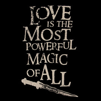 Love is the Most Powerful Magic of All Ladies' Tee