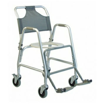 Lumex Shower Transport Chair With Footrests | Lumex #7915A-1