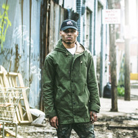 GLD Field Jacket in Olive Green