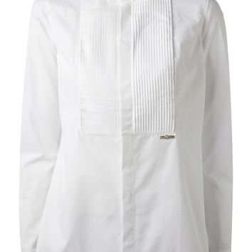DSQUARED2 pleated bib shirt